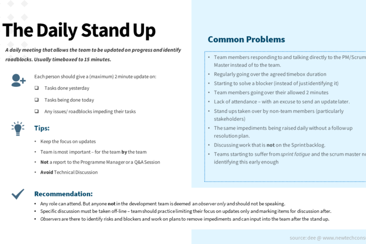 Agile - The Daily Stand Up